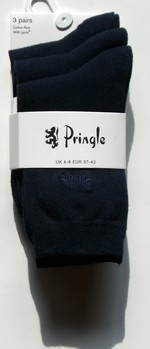 PRINGLE - Damen-Socken im Dreierpack